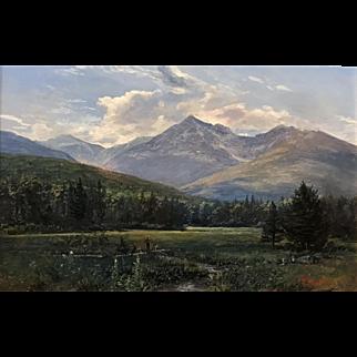 Erik Koeppel NH White Mountain Landscape of Mount Adams