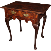 18th Century Walnut Veneered Lowboy