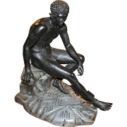 20th Century Continental Bronze of Mercury or Hermes