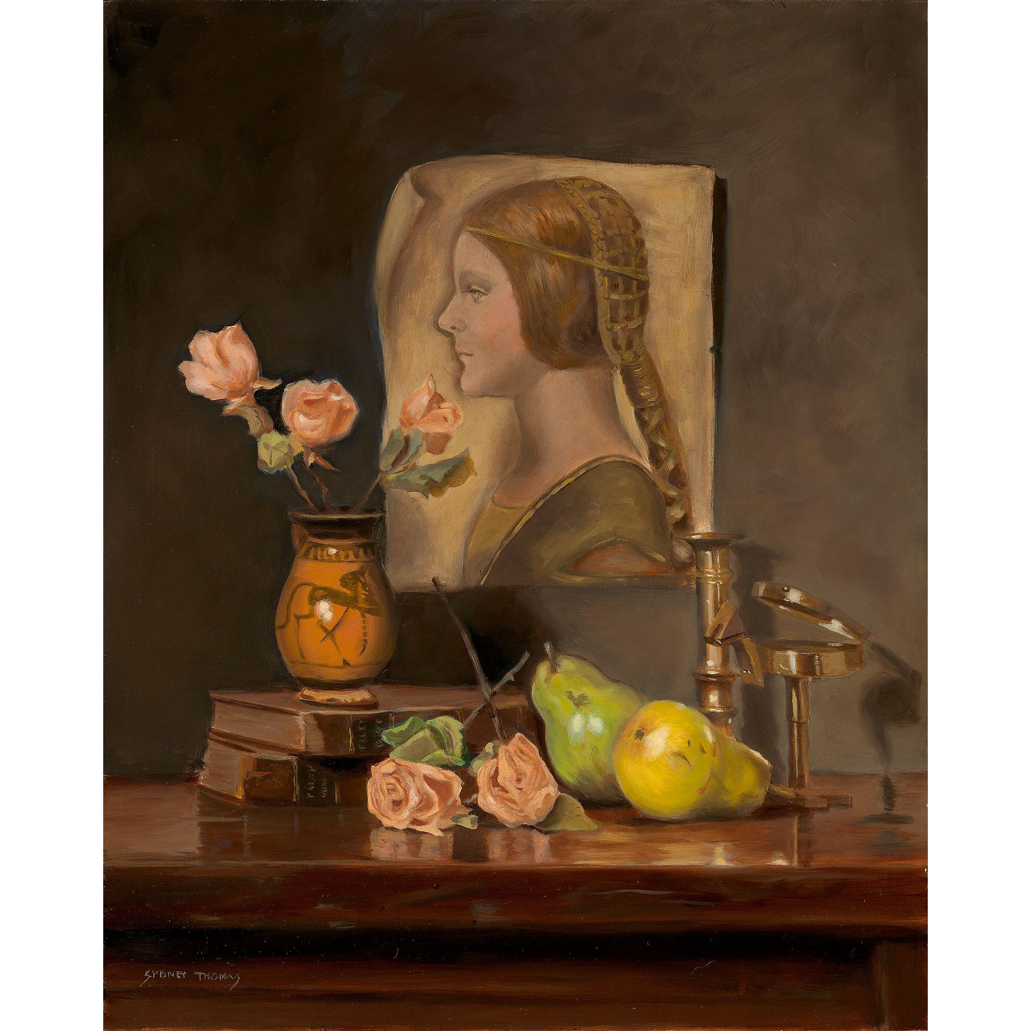 Sydney Thomas Oil Painting Still Life - In Search of Lost Time
