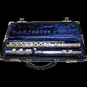 Gemeinhardt M3S Solid Silver Flute with Orignal Case