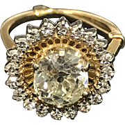 Exceptional Ladies Vintage Diamond Ring