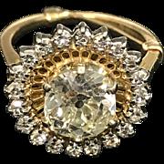 Exceptional Ladies Vintage Diamond Ring