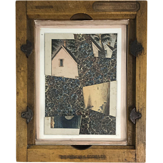 Roz Park Collage or Assemblage, House Puzzle