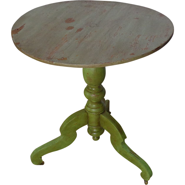 19th Century Antique French Louis Philippe Period Round Side Table