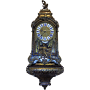 18th Century Antique French Regency Period Parisian Cartel Clock