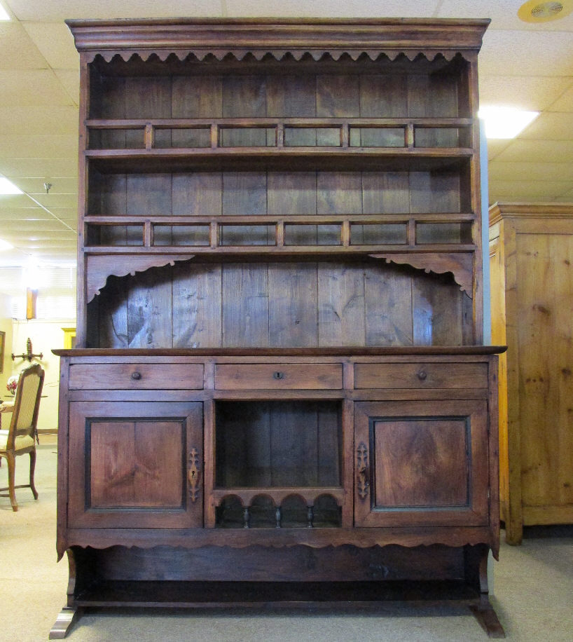 18th century french antique cherry vaisselier sold on ruby. Black Bedroom Furniture Sets. Home Design Ideas