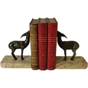 Pair of French Antique Art Nouveau Period Bookends
