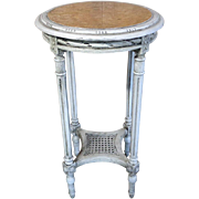 19th Century Antique French Louis XVI Style Side Table Gueridon