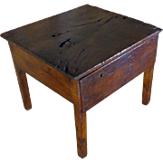 18th Century Antique French Louis XIV Period Walnut Side Table