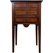 19th Century Antique French Louis XVI Style Parisian Nightstand