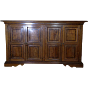 Antique Italian Renaissance Style Walnut Buffet