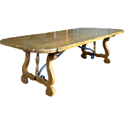 Antique Spanish Beech Coffee Table