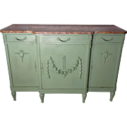 Antique French Louis XVI Style Buffet Enfilade