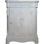 19th Century Antique French Napoleon III Period Bathroom Cabinet