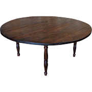 Antique French Louis Philippe Style Round Table