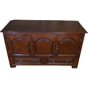 18th Century Antique French Louis XIV Period Oak Buffet