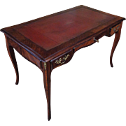 Antique French Louis XV Style Parisian Double Face Desk