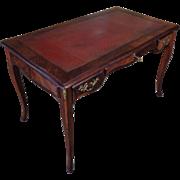 Antique French Louis XV Style Parisian Double Face Desk