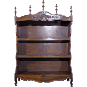 19th Century Antique French Louis XV Style Provencal Shelf