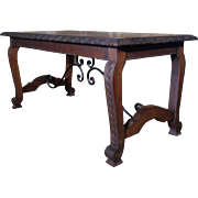 Antique Spanish Oak Coffee Table