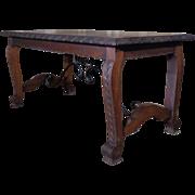 Antique Spanish Oak Coffee Table