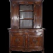 19th Century Antique French Louis XV Style Oak Vaisselier