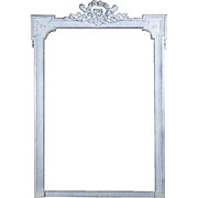 19th Century Antique French Louis XVI Style Mirror