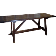 19th Century Antique French Farm Table