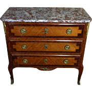 Antique French Transition Style Parisian Commode