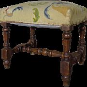 19th Century Antique French Renaissance Style Oak Bench