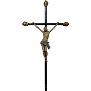 18th Century Antique French Crucifix