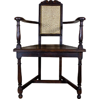 19th Century Antique French Renaissance Style Walnut Armchair
