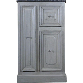 19th Century Antique French Louis Philippe Style Cabinet