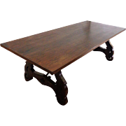 Antique Spanish Extendable Dining Table