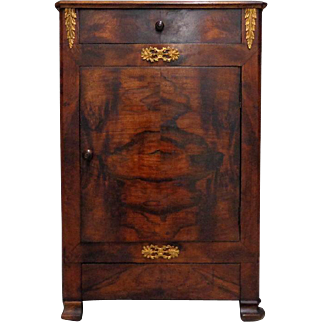 19th Century Antique French Empire Period Cabinet