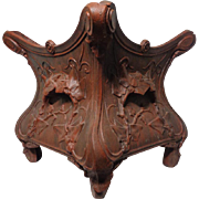 19th Century Antique French Rococo Cast Iron Planter