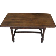 18th Century French Louis XIV Beech Coffee Table