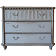 French Louis XVI Style Pine Chest Of Drawers