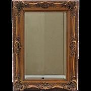 French Louis XV Rococo Style Rectangular Mirror