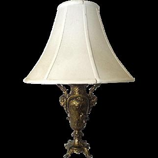 Antique French Napoleon III Urn Lamp