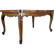 Antique Country French Provencal Dining Table