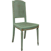 19th Century Antique French Louis XVI Style Side Chair