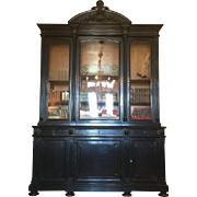 Huge 19th Century Antique French Napoleon III Period Bookcase