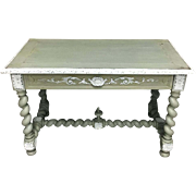 19th Century Antique French Louis XIII Style Desk