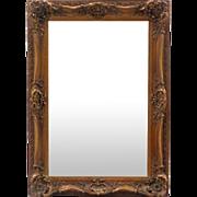 Antique French Louis XV Rococo Style Rectangular Mirror