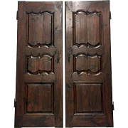 Pair of 18th Century French Louis XV Period Doors