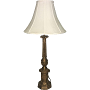 19th Century Antique French Gothic Lamp