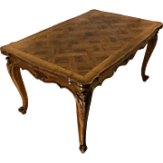 Antique Country French Louis XV Style Provencal Dining Table