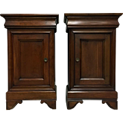 Pair of French Louis Philippe Style Nightstands